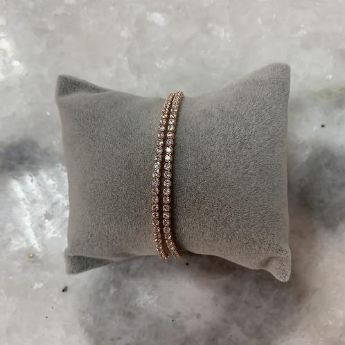 Bracelet STRASS Rose Gold