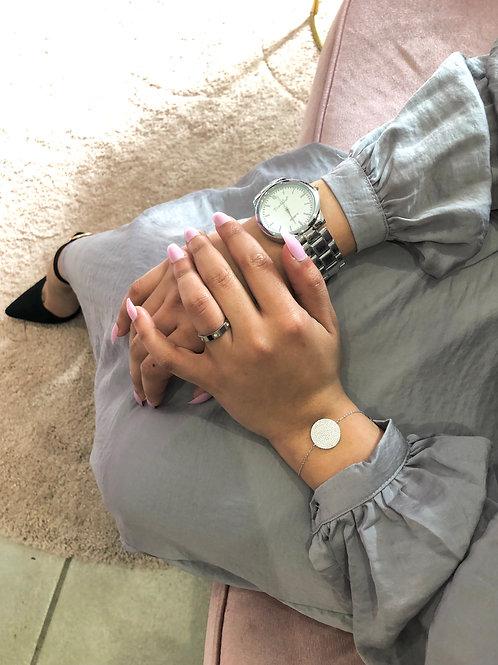Bracelet CRUSH Argent