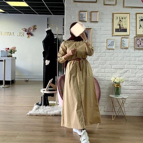Robe / Chemise - Beige
