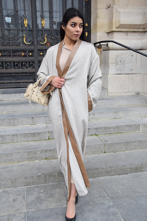 Kimono Leather - Beige