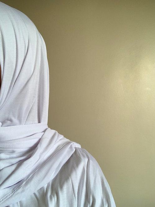 Hijab Viscose - Blanc