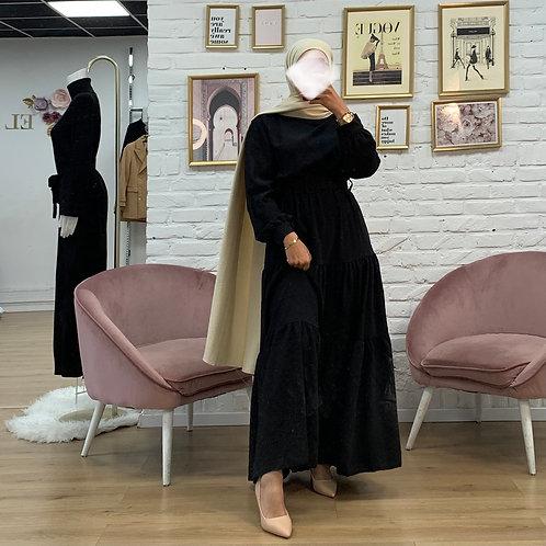 Robe PLUME - Noir