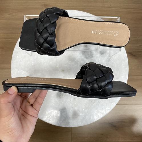 Sandales BRAIDS Noir