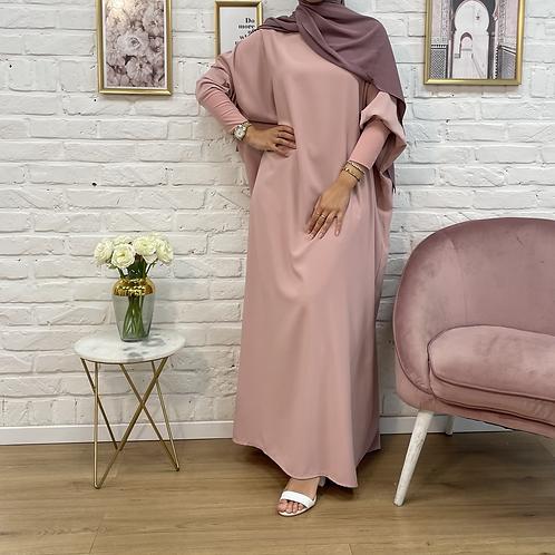 Abaya MARYAM -Rose