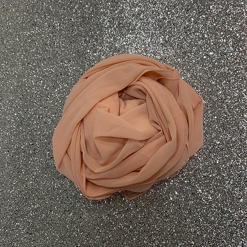 Maxi Hijab Rose/Saumon *2m*