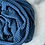 Thumbnail: Hijab Plissé mousseline Bleu