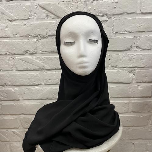 Hijab à enfiler - Noir
