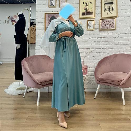 Robe ALPHA - Bleu turquoise