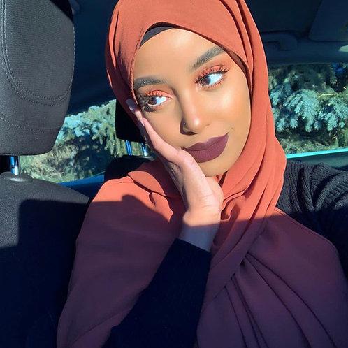 Maxi Hijab Rouille *1m70*