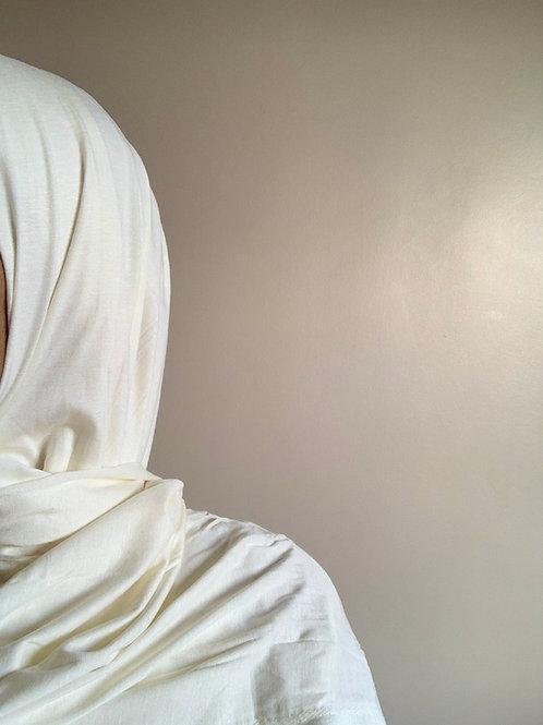 Hijab Viscose - Blanc Cassé