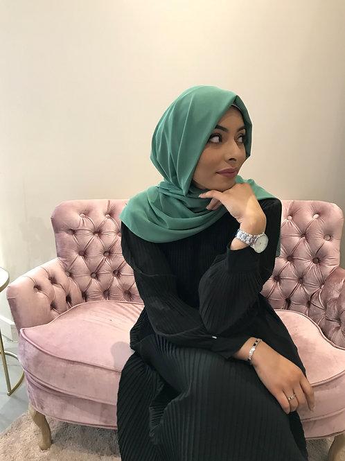 Maxi Hijab Vert Sauge *1m70*
