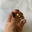 Thumbnail: Bague LOVE-STRASS Or