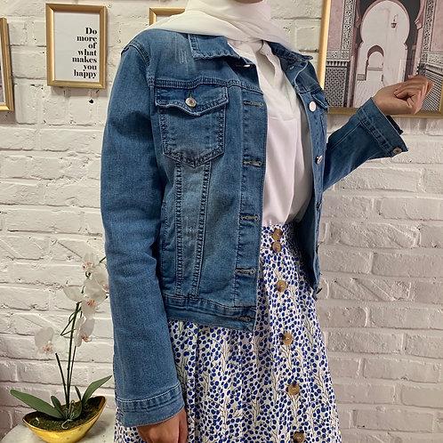 Veste en Jean - Bleu