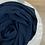 Thumbnail: Soie de médine - Bleu marine