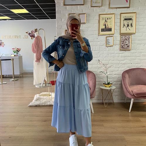 Jupe SPY - Bleu pastel
