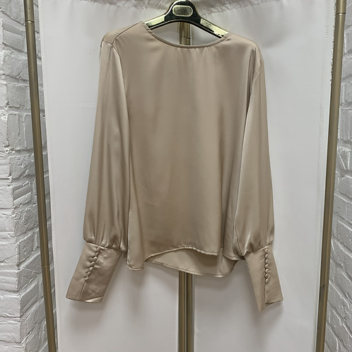 Blouse SATIN - Beige