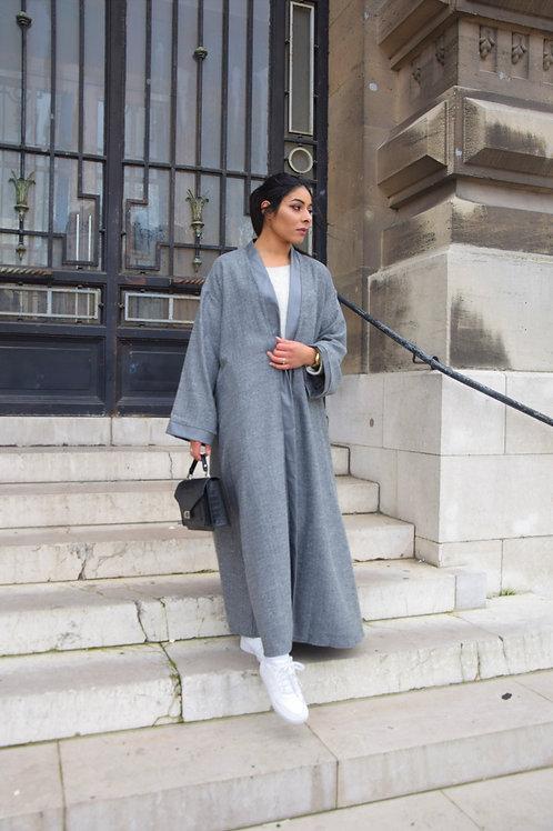 Kimono Leather - Gris
