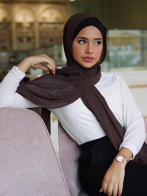 Maxi Hijab Marron *1m70*