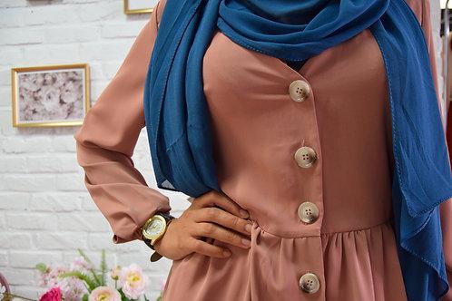 Maxi Hijab Bleu *2m*