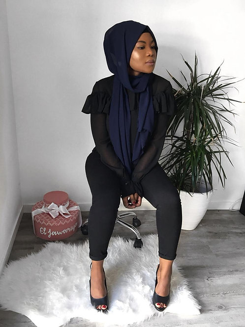 Hijab Bleu Marine