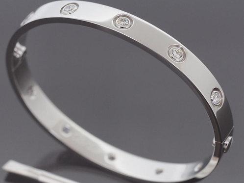 Bracelet AMORE Argent - Strass