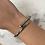 Thumbnail: Bracelet CLOU Argent-strass