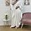 Thumbnail: Abaya FARASHA plissé - Blanc