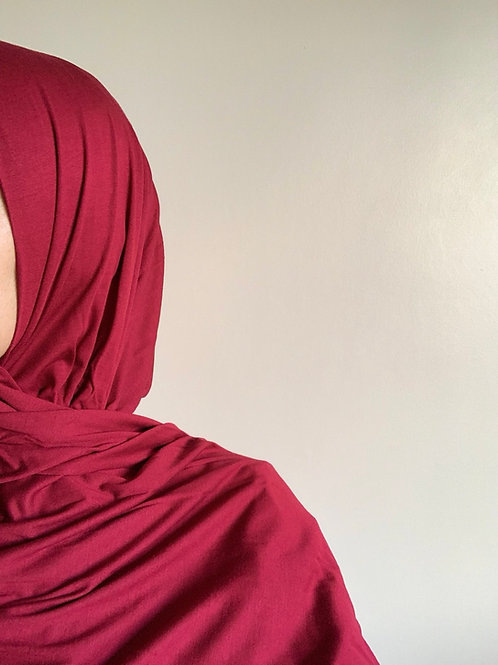 Hijab Viscose - Bordeaux