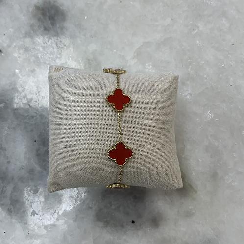 Bracelet CLEEF - Rouge