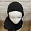 Thumbnail: Hijab à enfiler - Noir