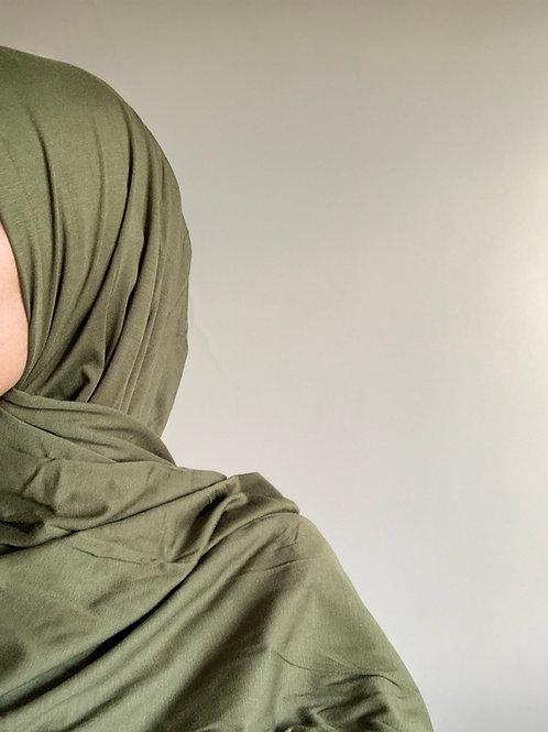Hijab Viscose - Vert Kaki