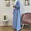 Thumbnail: Abaya / Sous robe FLUIDE - Bleu pastel
