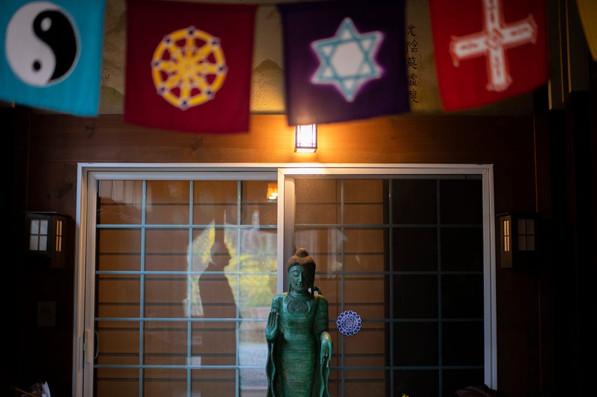 Entrance to Jizo Hall