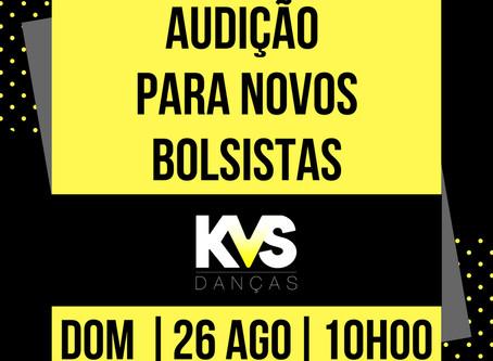 AUDIÇÃO KVS DE NOVOS BOLSISTAS PROCESSO SELETIVO 2018.2  RESULTADO FINAL