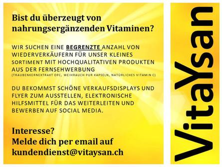 Bist du überzeugt von nahrungsergänzenden Vitaminen?