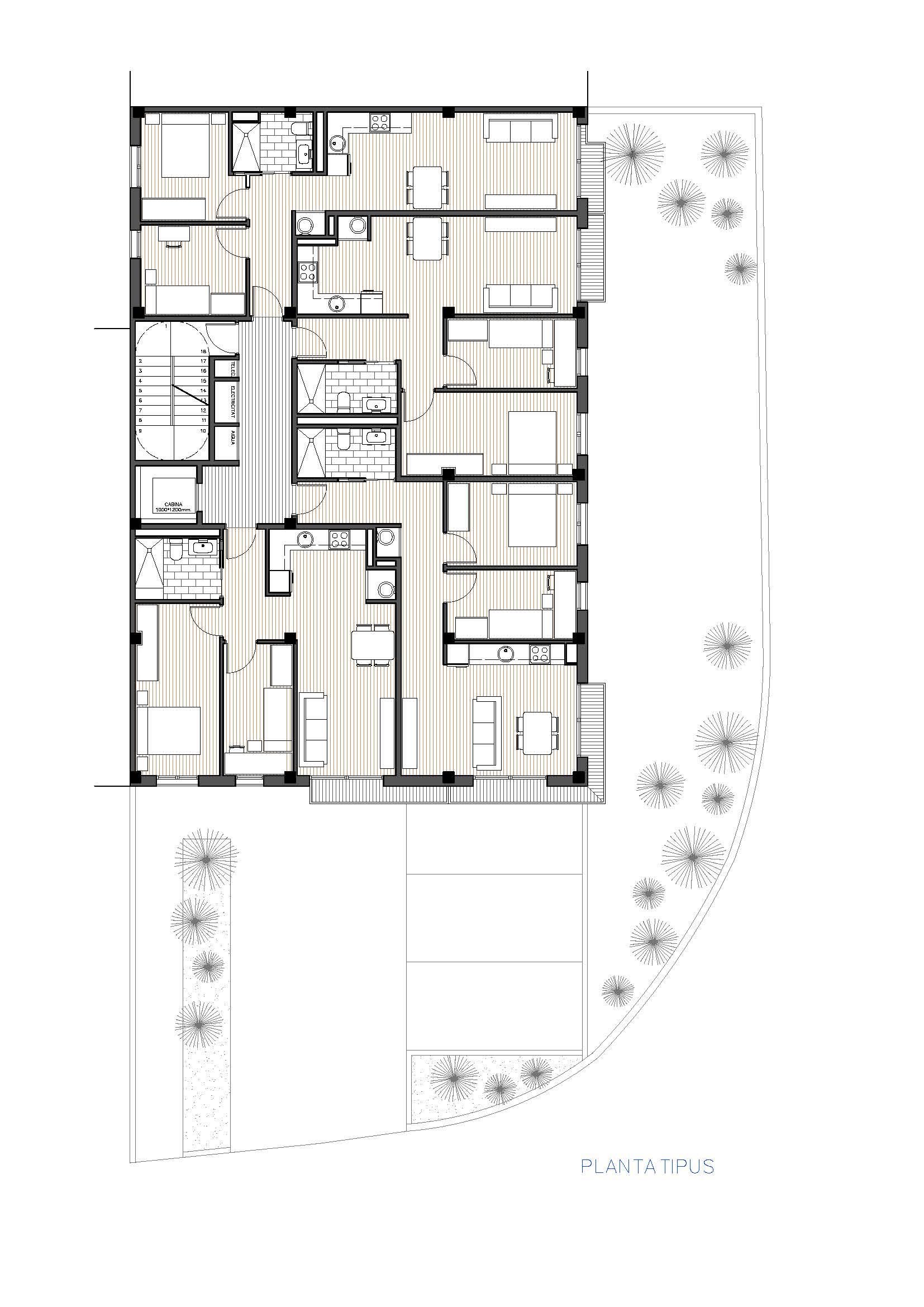 Edifici a Sant Pere i Sant Pau