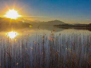 Sonnenuntergang Wörthersee 2, Österreich
