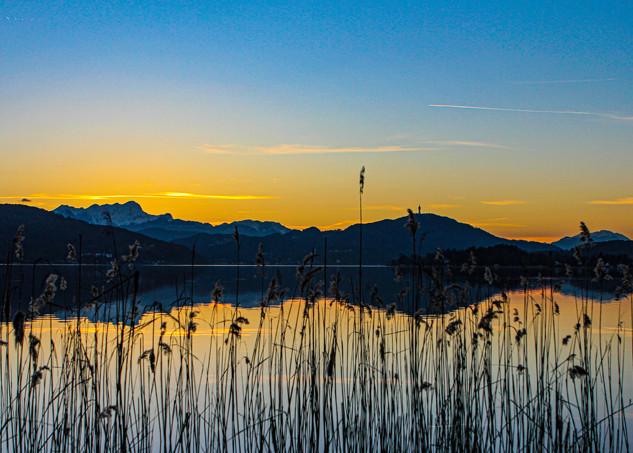 Sonnenuntergang Wörthersee 1