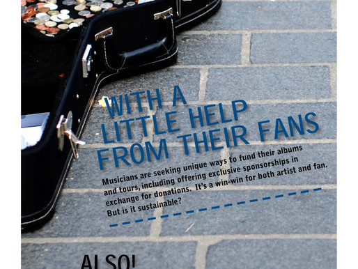 Issue 29: With a Little Help From Their Fans