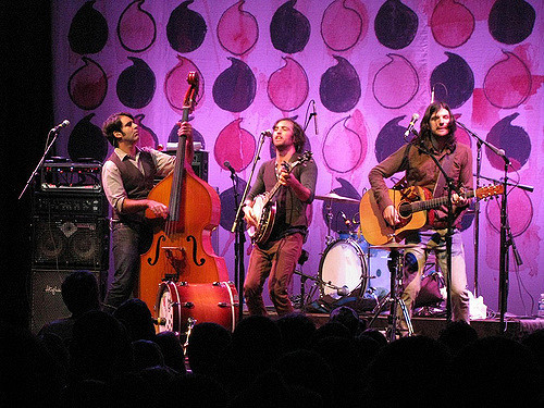 The Avett Brothers at the House of Blues.