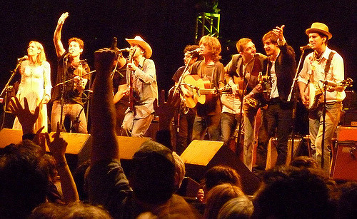 Gillian Welch and David Rawlings, Old Crow Medicine Show, the Felice Brothers, and Justin Townes Earle performed separately and together at the House of Blues.