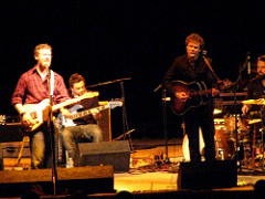 Josh Ritter opened the show, with help from Glen Hansard.
