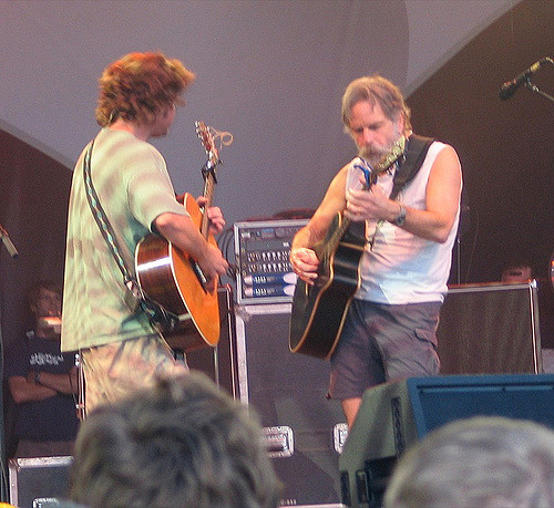 Keller Williams and Bob Weir