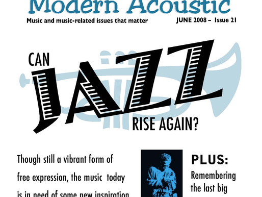 Issue 21: Can Jazz Rise Again?