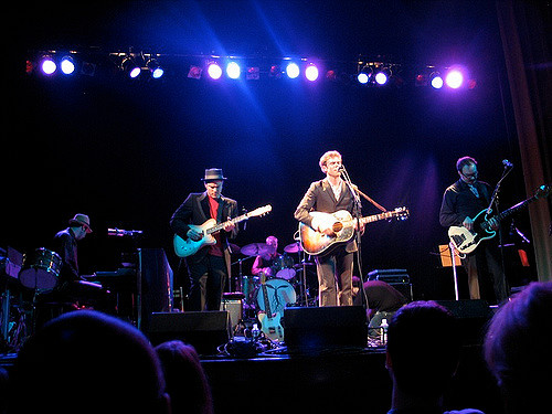 Josh Ritter and the Royal City Band at Somerville Theatre.