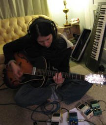 Kris Delmhorst recording Shotgun Singer