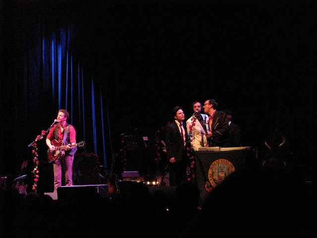 Josh Ritter and the Royal City Band at the Troc.