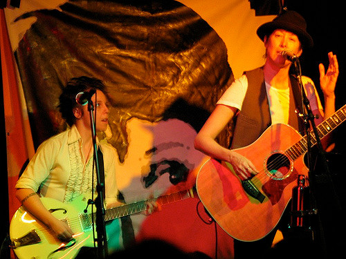 Erin McKeown and Michelle Shocked at Club Passim