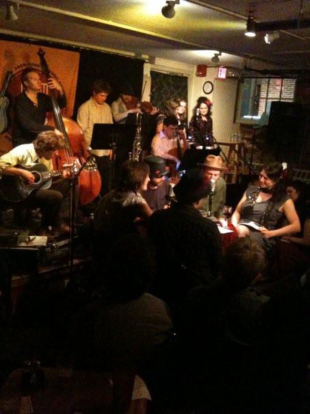 Anais Mitchell's Hadestown at Club Passim.