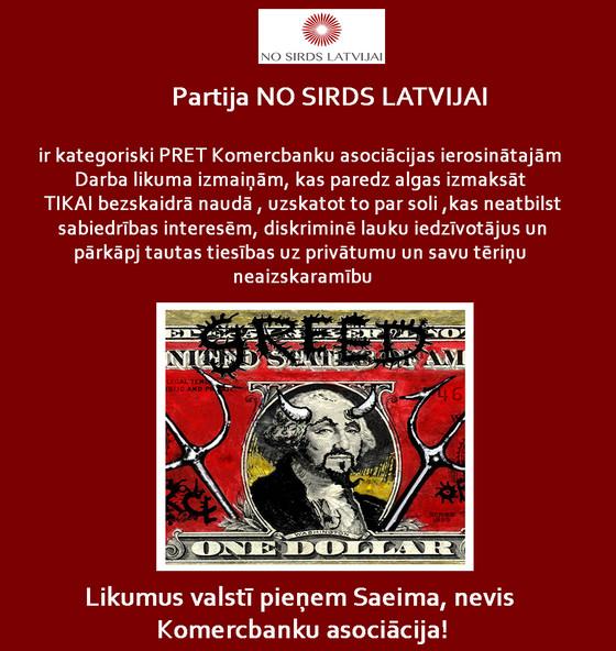 NO SIRDS LATVIJAI